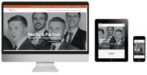 Bild der Webseite Moritz-Partner.com